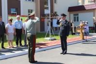 Торжественный ритуал открытия 7 отдельной патрульной роты войсковой части 3310 в г.Солигорске